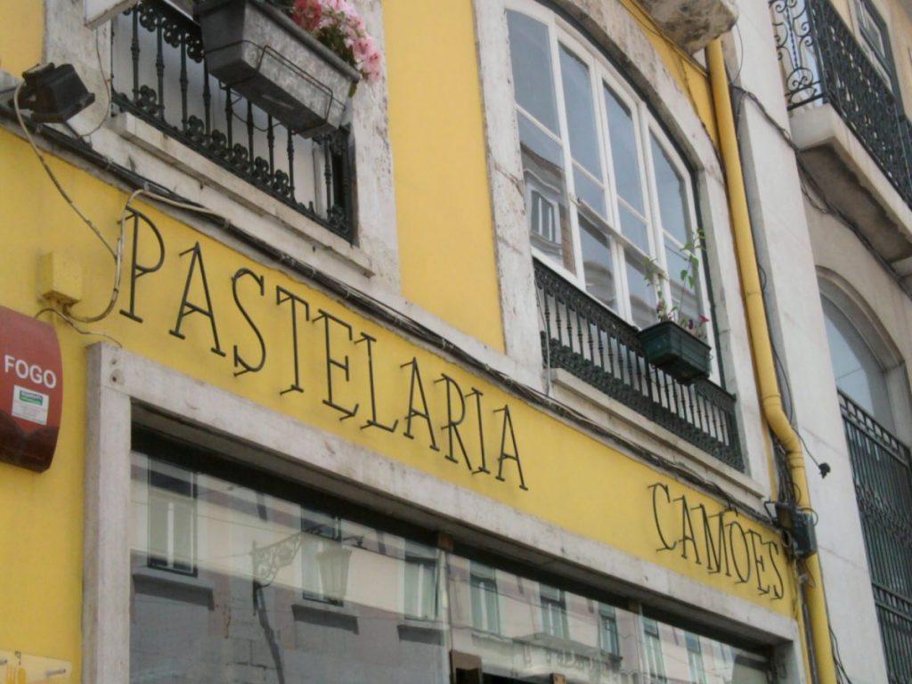 Pastelaria Camões na rua do Loreto