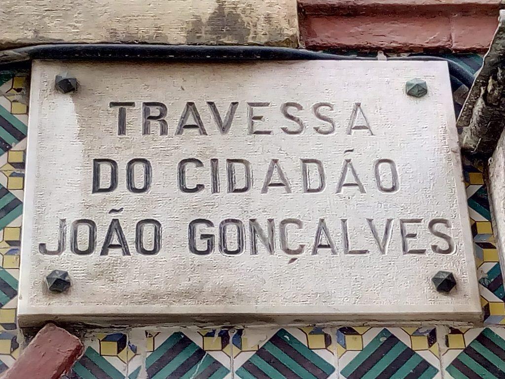 Travessa do Cidadão João Gonçalves